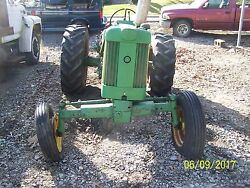 Jd John Deere 430w With Wide Front Tractor