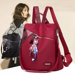 Fashion Anti theft Women Backpacks High Quality Ladies Large Capacity Backpack $14.22