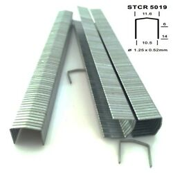 Fasco Eb-stcr-5019-10ss 3/8 Stainless Steel Staples 100000 20 Boxes