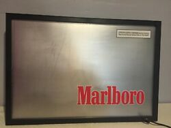 1997 Philip Morris Marlboro Fade In And Out Light Up Sign 77416 Needs A Bulb