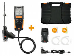 Genuine Testo 0563 3110 310 Flue Gas Set With Printer O2 Co Hpa And Anddegc Draught