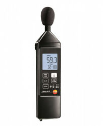 GENUINE TESTO 815 SOUND LEVEL METER +32~ +130 DB 05638155, 31.5 Hz to 8 kHz