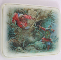 Handpainted One Of A Kind Russian Lacquer Box Iiiya Muromet By D. Rogatov