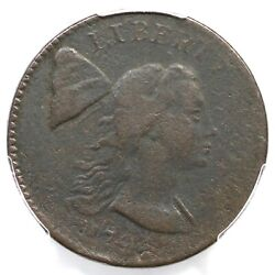 1794 S-18b R-4 Pcgs Vf Details Head Of 93 Liberty Cap Large Cent Coin 1c