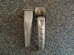 Vintage Lot Of 2 Plews Oil Can Push In Spouts Great Collectible Lot
