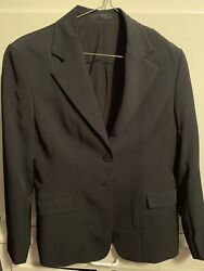 Womens Equestrian Show Jacket Size 6r
