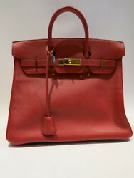 Authentic Vintage HERMES from 1999 Haout a Courroies 32