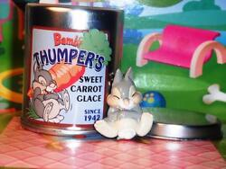 Disney Rement Baby Thumper Bunny From Bambi Metal Collectible Can Fits Dollhouse