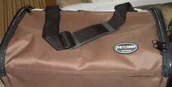 Petcomer Pet Travel Carrier Soft Sided Tote Cat Dog Portable Coffeebeige   New
