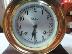 Chelsea Boston Shipstrike Clock Excellent Condition Made In Usa No Key