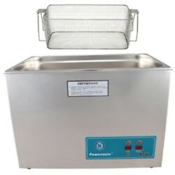 Crest P2600h-45 Ultrasonic Cleaner-heat And Timer-mesh Basket