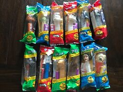 Star Wars Pez Complete Set, Hard To Find Still In Packaging -all 12 Pez