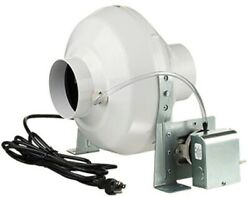 VENTS-US 162 CFM Dryer Booster Fan 4 in Duct Outdoor Hydroponic Gardening
