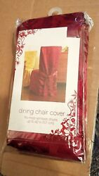 Dining Chair Covers Fits Up 42in. Red