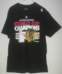Chicago Blackhawks 2013 Stanley Cup Champions T-shirt Size Large