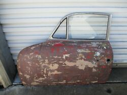 Porsche 356 Coupe Door Assembly Driver Side Late Style 1960-1965 Used