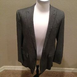$ 5195 LARUSMIANI MILANO MENS SUIT HAND MADE IN ITALY SIZE 42 L