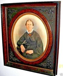 Rare Pair Of Antique Frames - Large And Very Ornate - 1 Of A Kind - Civil War Era