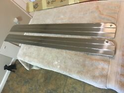 1948-49 Cadillac Convertible Or Coupe Deville Interior Door Stainless Repro