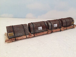 Ho - Load For Bulkhead Cars - Athearn Atlas Ahm Walthers Roundhouse - Lsmc4ws