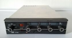 066-1062-00 Bendix King Kt76a Atc Transponder Radio W/ Tray And Mods Volts 14