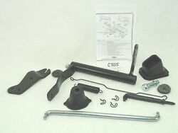 Late 67 And 68 69 Camaro Small Block Clutch Linkage Set W/ Instruct. Show Quality