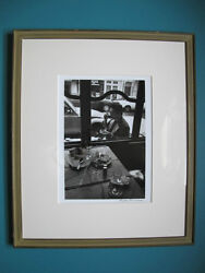 Robert Doisneau.signed.photo Of Japanese Actor Ken Ogata.and039mintand039 Condition.