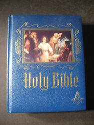 Holy Bible King James Version - Red Letter Edition Heirloom Masonic