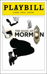 The Book Of Mormon Playbill September 2018 Eugene Oand039neill Theatre