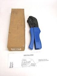 New Amphenol Ratcheting Crimper Tool, 20-24 Awg, 24-30 Awg, 357-574
