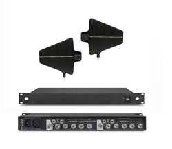 Wireless Microphone Signal Antenna Amplifier Booster Distribution System Perform