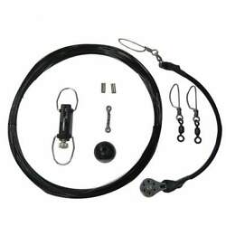 Rupp Center Rigger Rigging Kit With Klickers Black Mono Ca-0113-mo