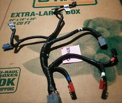 02-06 Dodge Ram Driver Passenger Power Seat Track Harness Wires Loom Connectors