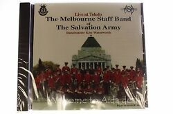 Live At Toledo The Melbourne Staff Band Cd The Salvation Army