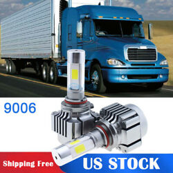 2x LED Car Headlight Bulbs Conversion Kit for 1996-2016 Freightliner Columbia