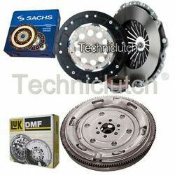 Sachs 3 Part Clutch Kit And Luk Dmf For Audi A6 Estate 1.8 T