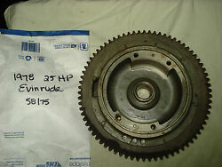 1978-1982 25/35/55/60 Hp Evinrude Flywheel Assembly P 0582011