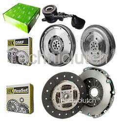 LUK CLUTCH KIT AND LUK DMF WITH VALEO CSC FOR FIAT DUCATO BOX 120 MULTIJET 2.3 D