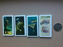 Brooke Bond Cards. Exploring The Ocean. Set Of 48 New Cards.