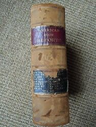 The American State Reports-cases Of General Value And Authority, Rare 1897 Book