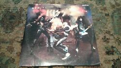 Kiss ‎Alive! Original Vinyl Record Lp USA 1975 Orig Casablanca