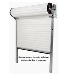 Model 2000 - [10and039 X 9and039] Medium Duty Rolling Commercial Steel Roll-up White Door