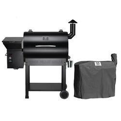 Z Grills Zpg-7002b Wood Pellet Grill Bbq Smoker Digital Control With Cover