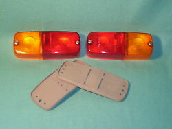 2 X Hella Tail Light Porsche 907 908 917 956 962 ++made In Germany++  Nos