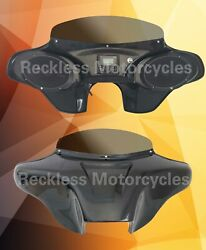 Batwing Fairing For Harley Davidson 2018 Softail Deluxe 6x9 + Pmx1