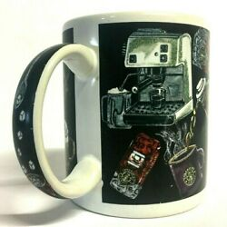 Starbucks Coffee Thailand Mug Cup Pouring Making Beans Graphic Industrial Art