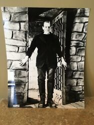 Boris Karloff Autographed Picture As The Frankenstein Monster