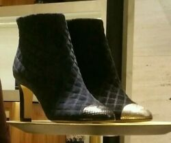 Velvet Booties Sold Out In Stores