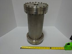 Mdc High Vacuum Chamber Reactor Heavy Stainless Steel Tc-1-a