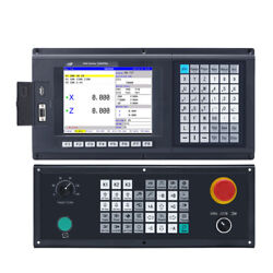 Popular 3 Axis Cnc Controller For Turning And Lathe Machine Support Plc Atc